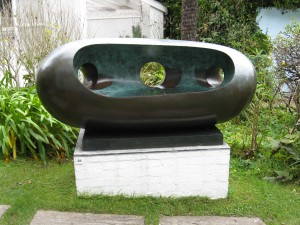 Barbara Hepworth, 'River Form', BH 568, 1965, cast in bronze 1973.