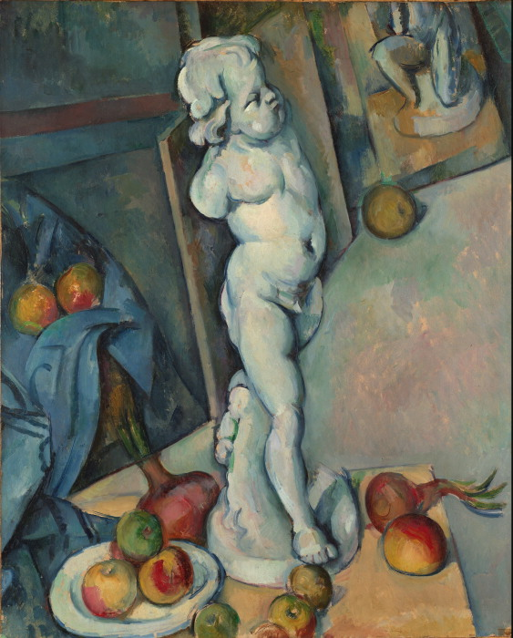Image 3: Paul Cézanne, 'Still life with Plaster Cupid', c. 1894, 70.6 x 57.3 cm. London, Courtauld institute of Art.