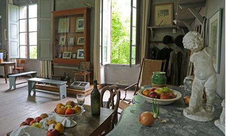 Cézanne's studio in Aix-en-Provence. Photograph: © Kevin Rushby.