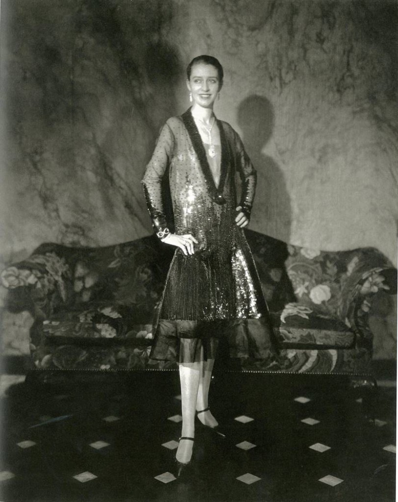 Edward Steichen, 'Marion Morehouse in a dress by Cheruit in Conde Nast's apartment', 1927.