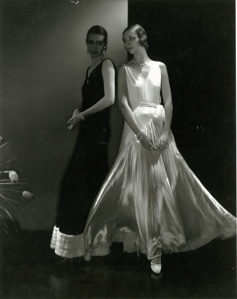 Edward Steichen, 'Morehouse and anonymous model wearing Vionnet', 1930.