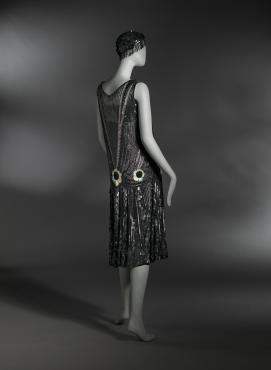 1927 'flapper' dress.