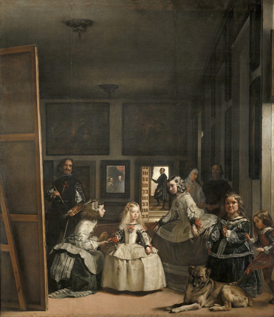 Diego Velazquez, 'Las Meninas', c. 1656, oil on canvas, 318cm x 276cm, Prado, Madrid