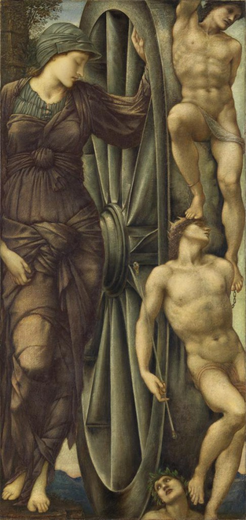 Edward Burne-Jones, 'The Wheel of Fortune', (1871-1885), National Gallery of Victoria, Melbourne.