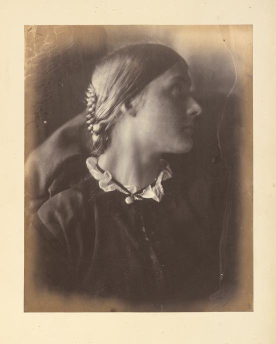 Julia Margaret Cameron, 'Julia Jackson', 1864, Albumin Silver Photograph, National Gallery of Victoria, Melbourne.