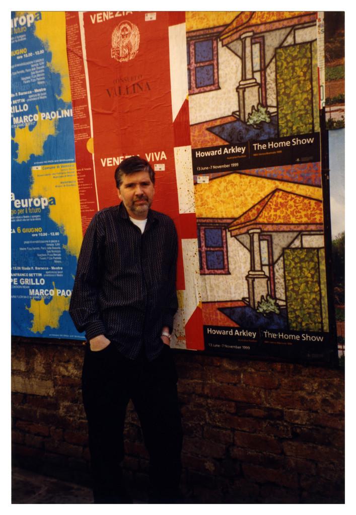 Howard Arkley in Venice, 1999. Photo: Alison Burton