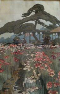 Image 2 - Hiroshi Yoshida, 'Iris Garden in Harikiri', 1928