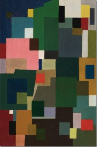Ralph Balson, 'Constructive painting', 1953, oil on composition board, 107 x 70 cm, TarraWarra Museum of Art collection