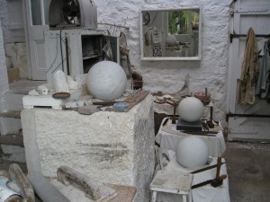 Barbara Hepworth's garden studio (photo October 2012)