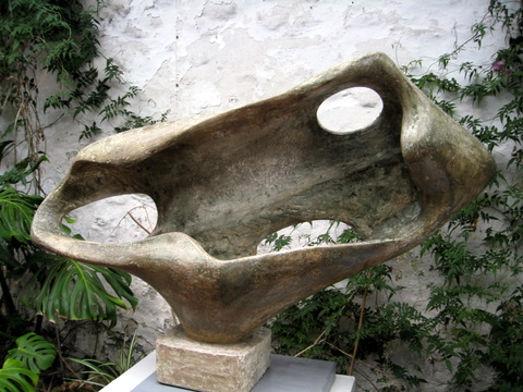 Barbara Hepworth, 'Sea Form' (Porthmeor), BH 249, 1958, plaster model