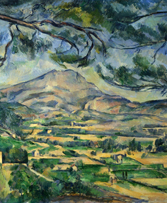 Image 2. Paul Cézanne, 'Mont Sainte-Victoire with Large Pine', c. 1887, oil on canvas, 62 x 92 cm. London, Courtauld Institute of Art.