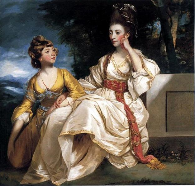 Joshua Reynolds, 'Mrs Hester Lynch Thrale with her Daughter Hester Maria', 1777-8, © Beaverbrook Art Gallery, Fredericton, New Brunswick, Canada.