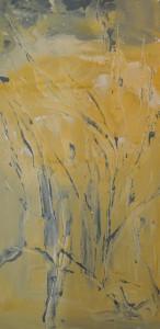 Nita Jawary, 'In the Wind', 2012, acrylic on canvas, 46 x 92cm.