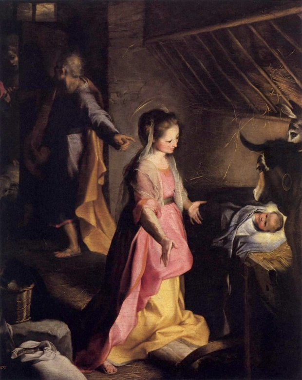 Federico Barocci, 'The Nativity', 1597, Museo del Prado, Madrid