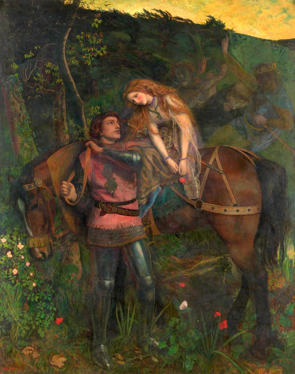 Review medieval moderns the pre raphaelite brotherhood for The art of painting
