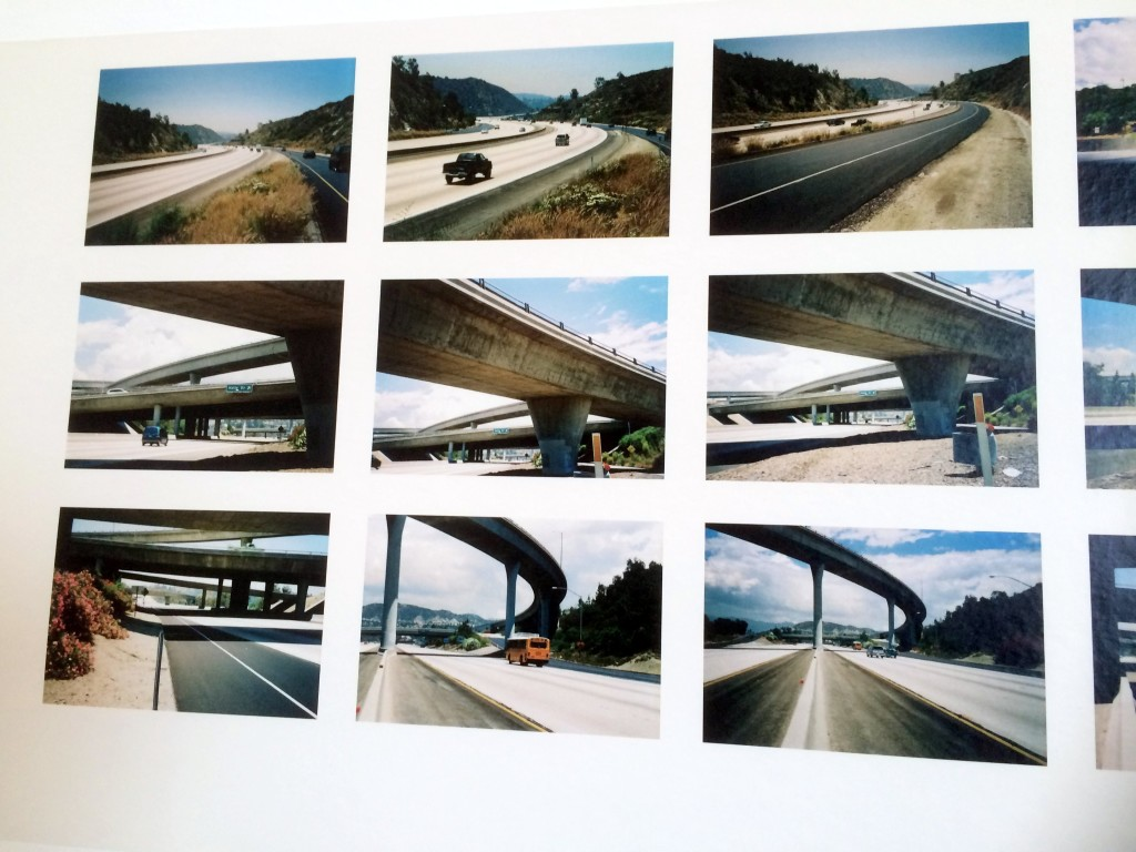 Photographs of Los Angeles freeways, 1999, Courtesy of The Estate of Howard Arkley and Kalli Rolfe Contemporary Art. Photo: D M Taylor.