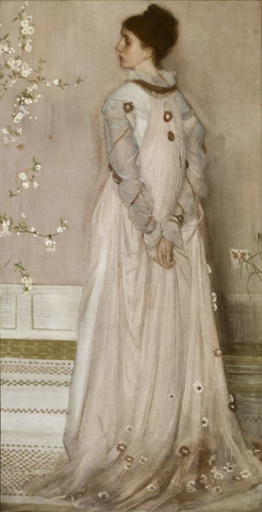 James McNeill Whistler, Symphony in Flesh Colour and Pink: Mrs. Frederick R. Leyland, 1871-74, oil on canvas, The Frick Collection, New York