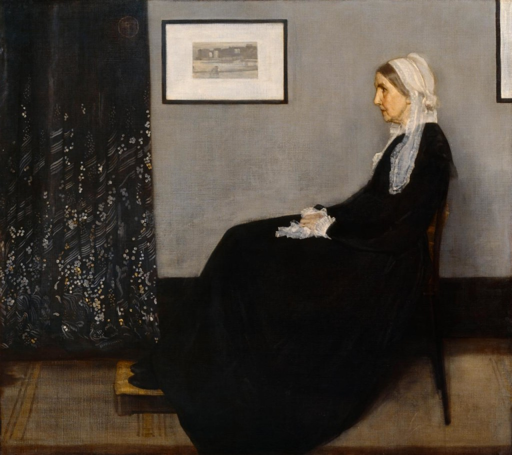 James McNeill Whistler, Arrangement in Grey and Black, No 1 (Portrait of the artist's mother), 1871, oil on canvas, Musée d'Orsay, Paris
