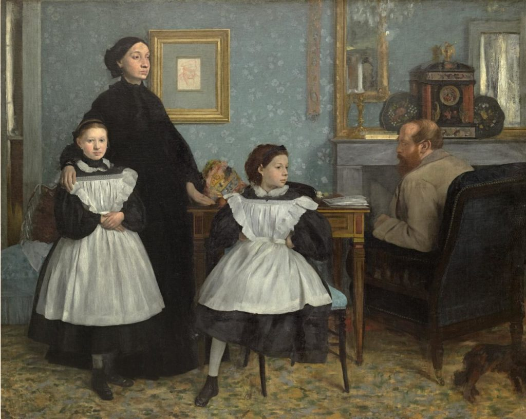 Edgar Degas, 'Family portrait , also called The Bellelli family', 1867, oil on canvas, 201.0 x 249.5 cm, © Musée d'Orsay.