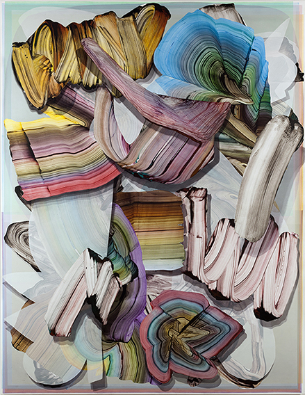 Gregory Hodge, 'Transition', 2016, synthetic polymer paint on canvas. Courtesy of the artist and Sullivan+Strumpf, Sydney